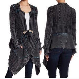 FREE PEOPLE All Washed Out Cardi,sold out in black